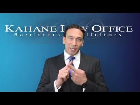 General Powers of Attorney by Kahane Law Office