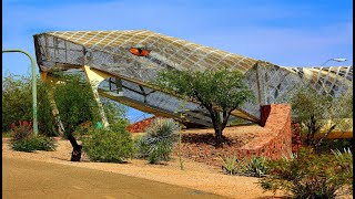 Diamondback Snake Bridge (Only Snake Designed Bridge In World) Tuscon, Arizona