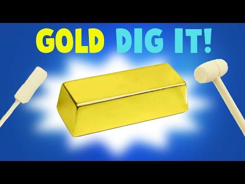Surprise Dig It Gold Bar - Did I Find Gold?!?