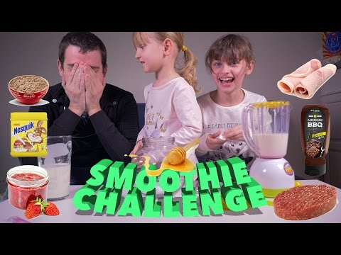 SMOOTHIE CHALLENGE en Famille avec SWITCH !! • Allez courage ! :) - Studio Bubble Tea unboxing