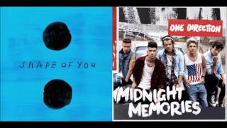 Ed Sheeran vs. One Direction MASHUP (Shape of you/You & I)