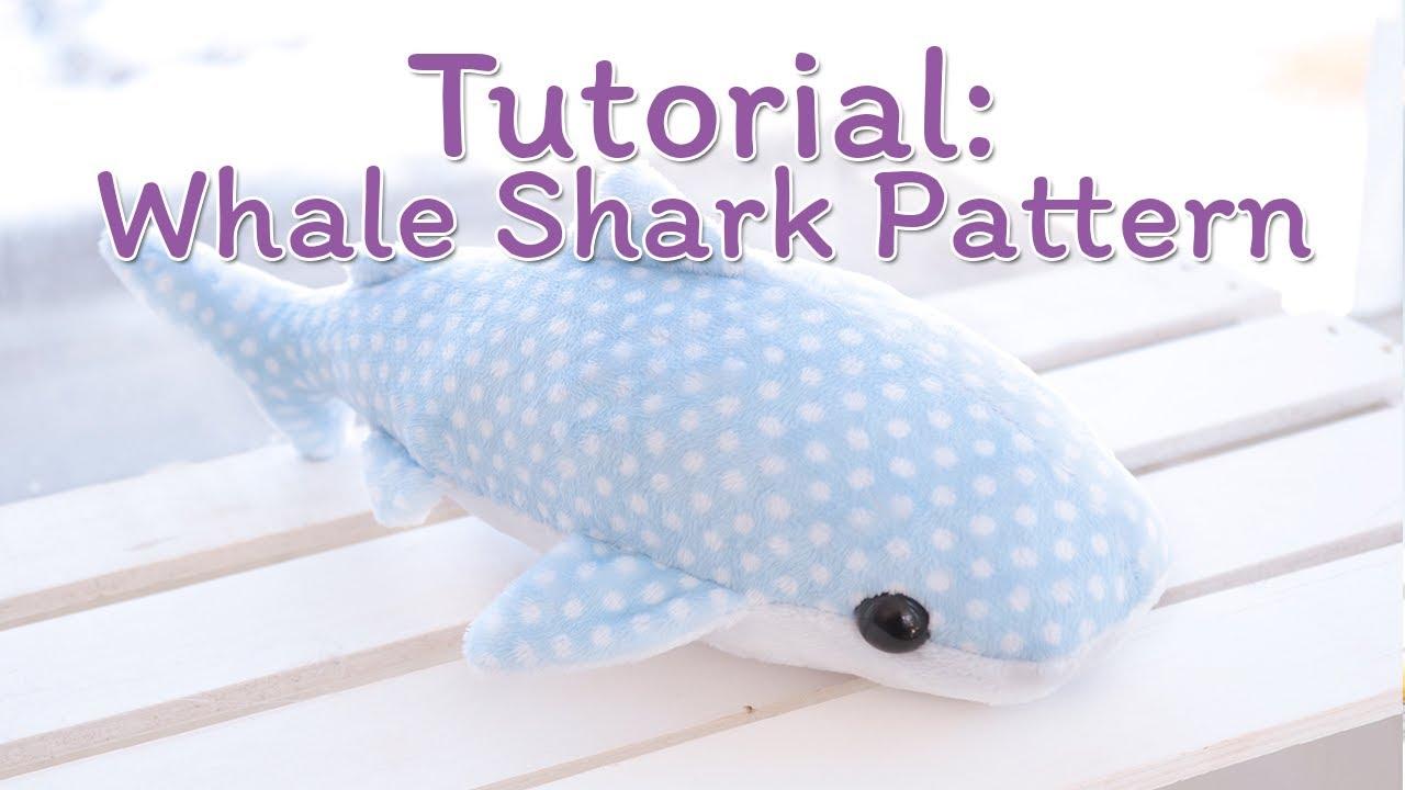 How to Make a Whale Shark Plush - YouTube