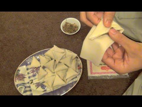 HOW TO MAKE SAMBOOSA