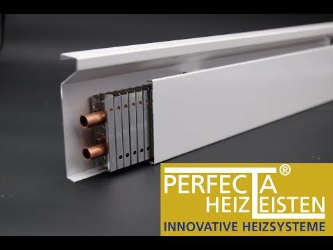 Perfecta Heizleisten Die Vorteile Gegenuber Wandheizung Fussbodenheizung Heizung Energiesparen Youtube