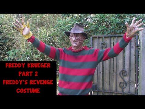 Freddy Krueger Part 2 Freddy's Revenge Costume