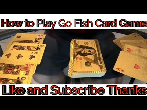 How To Play Go Fish Card Game
