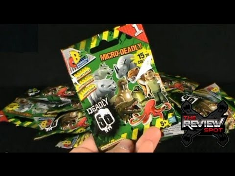 Collectible Spot - Character Building Micro-Deadly Series 1 Blind Bags OPENING!