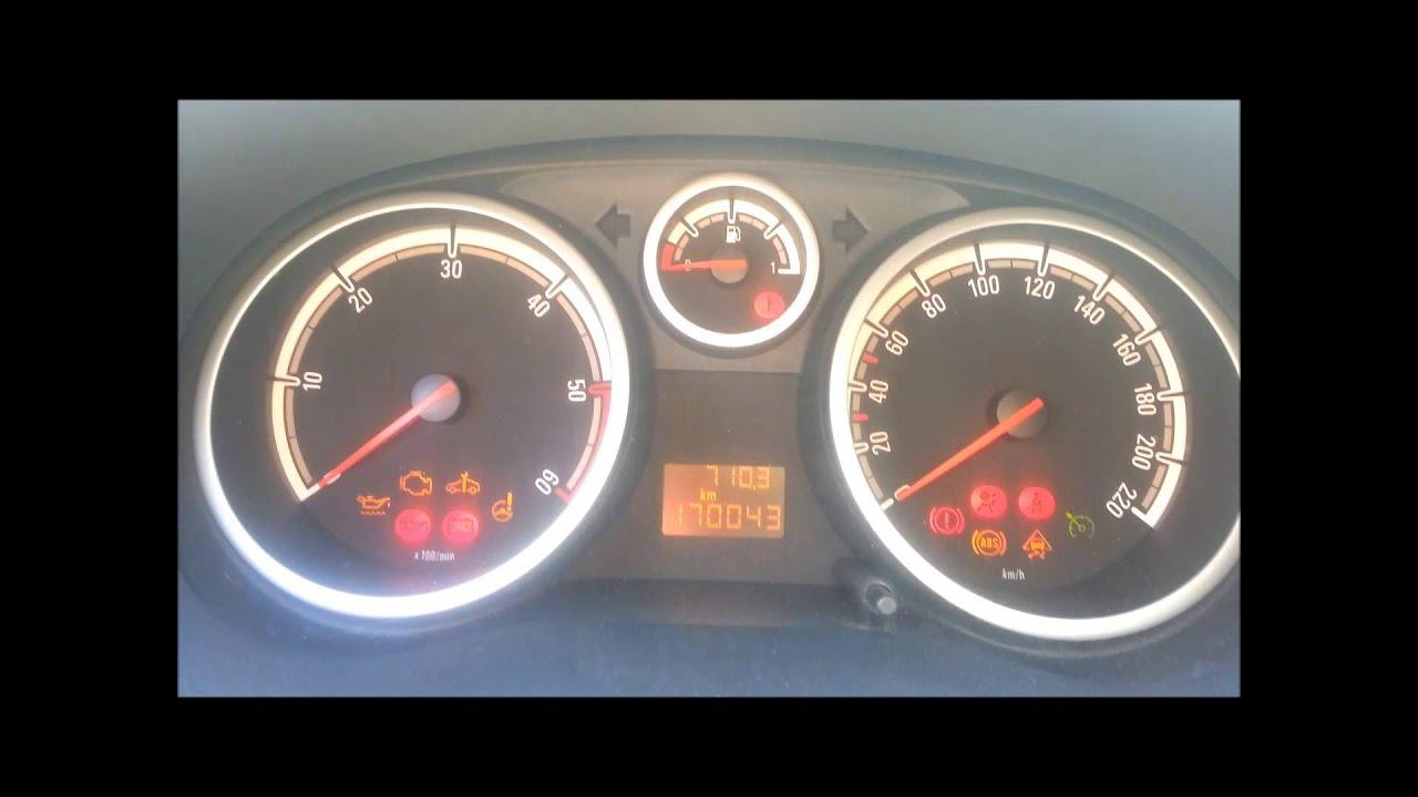 Test Pedali Codici Di Errore Opel Corsa D 1 3 Cdti Youtube