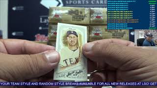 2018 Topps Allen & Ginter Baseball Case Break #1