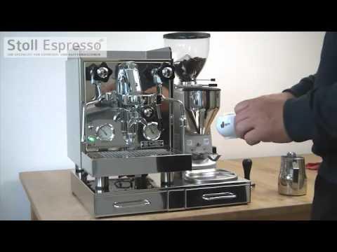 Spiksplinternieuw Stoll Espresso - Vorstellung der Rocket Cellini Evoluzione - YouTube FG-36