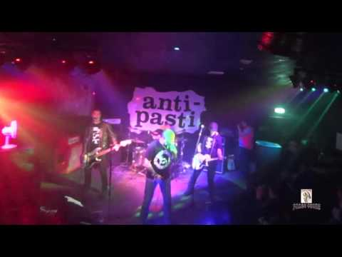 ANTI PASTI performing at Arches Venue Coventry 4th December 2015