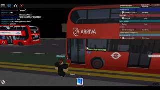 Roblox North London bus Simulator Enviro 400 Arriva London Route W3 Test