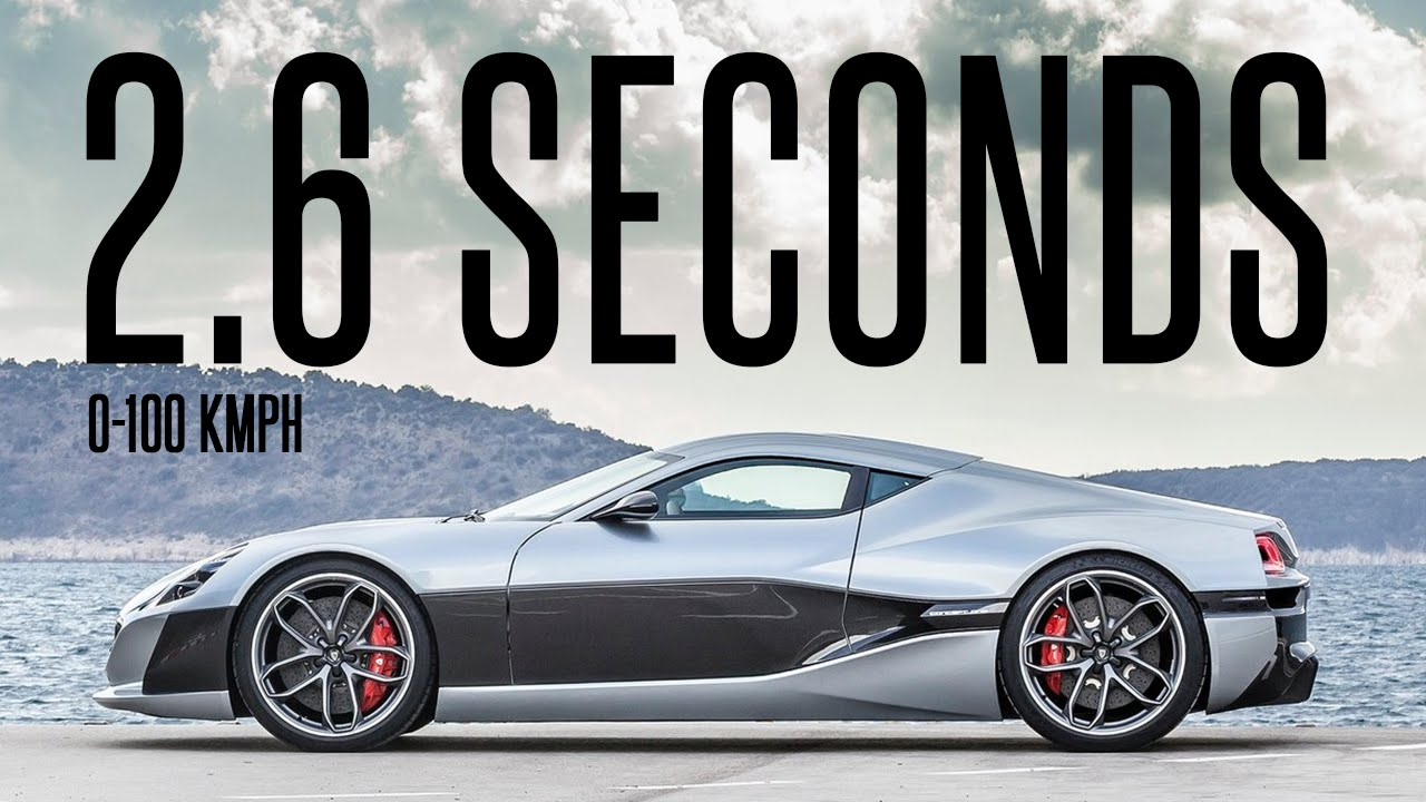 Rimac Concept One The World S First Electric Supercar