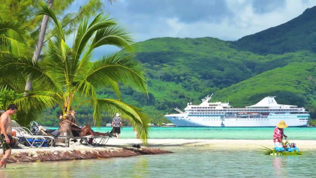 Paul Gauguin Cruises Tahiti Bora Bora Society Islands YouTube - Cruise to tahiti