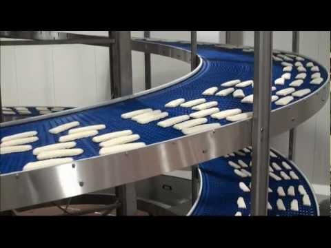 Jonge Poerink Conveyors - JP FD Spiral - Products frozen fish