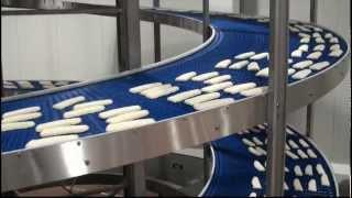 Jonge Poerink Conveyors - JP FD Spiral - Products frozen fish