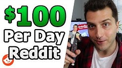 How to Make $100 a Day Online With Reddit (While Dead Broke)