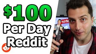 Here's how to make money online with reddit. we're talking potentially $100 per day even while dead broke. next step after video: http://deadbeatuniversity.c...