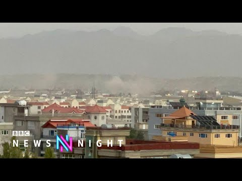 Afghanistan: At least 60 killed in Kabul airport bombings - BBC Newsnight