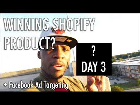 DAY 3 My Shopify Winning Product and Facebook Ad Targeting Cat Earring