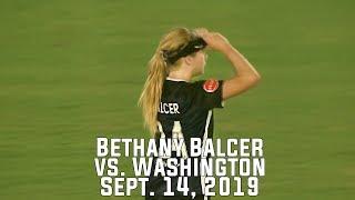 Bethany Balcer vs Washington Spirit (September 14 2019)