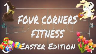 FOUR CORNERS FITNESS (Easter Edition) - A PE and Brain Break Activity