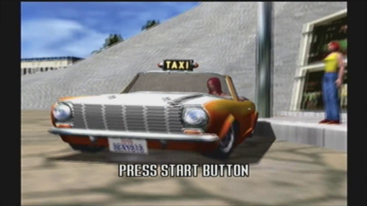 Crazy Taxi Intro Attract Mode Ten In 2010 Youtube