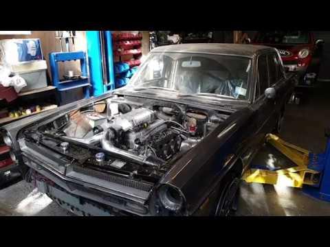 1969 Nissan Gloria VK56DE Supercharged V8 Rundown