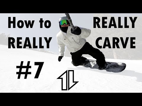 How to Really Really Carve #7!   Deeper and Earlier Toeside Carves