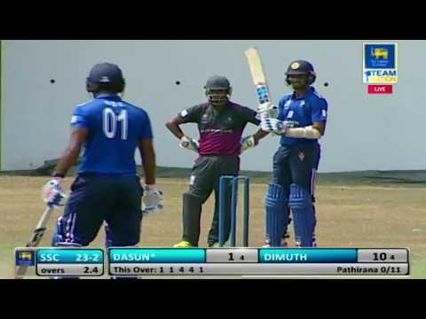 SSC vs Moors - SLC Major T20 Tournament