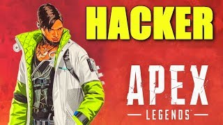 so crypto hacked a hacker into our game in apex legends.. in apex legends...