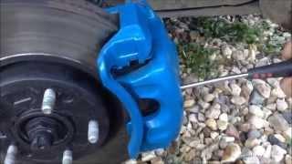 Замена передних колодок на KIA Sportage 2010- АКПП AWD 2,0 бензин