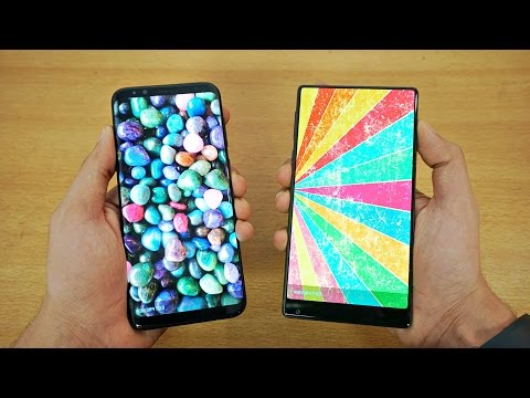 Samsung Galaxy S8 Plus vs Xiaomi MI MIX - Speed Test! (4K)