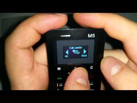 AEKU M5 ултра тънък мобилен телефон с цветен дисплей 13
