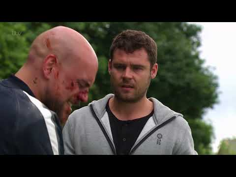 Aaron Helps Jason Recover From Cain's Beating - Emmerdale