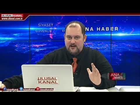 Ana Haber-  11 Şubat 2020- Teoman Alili- Ulusal Kanal (İdlib'de yaşanan gelişmeler)