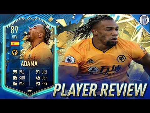 89 Team Of The Season So Far Traore Player Review Totssf Adama Traore Fifa 20 Ultimate Team Youtube