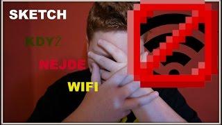 [SKETCH] ,,Když nejde wifi ''