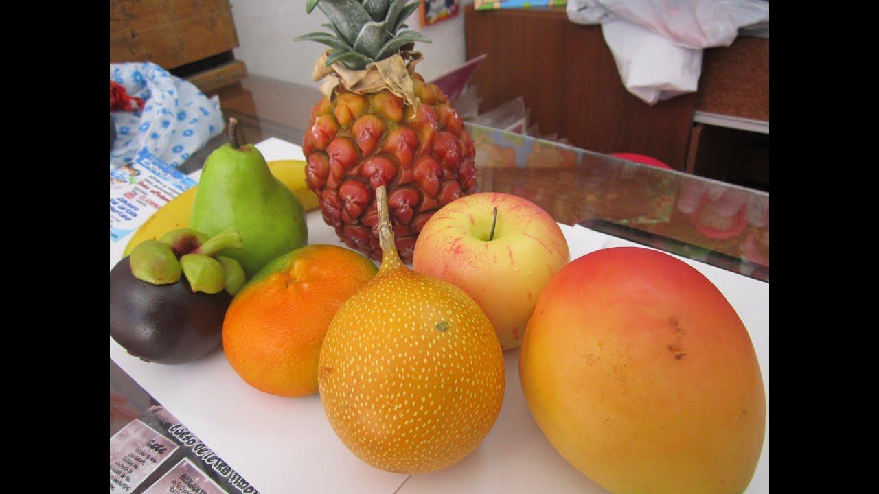Frutas en resina muy reales  YouTube