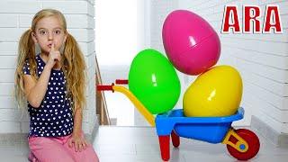 Ulya وأرنب قصة مضحكة للأطفال