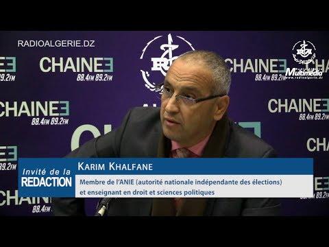 Karim Khalfane Membre de l'ANIE autorité nationale indépendante des élections et enseignant en droit