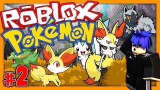 """""""POKEMON GO"""" IN ROBLOX! (Roblox Brick Bronze) Episode 2 - EVOLVING FINNEKIN!?!"""