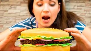 3д торт «Гамбургер» / 3D cake «burger» - Я - ТОРТодел!