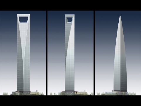 William Pedersen, KPF: The Shanghai World Financial Center