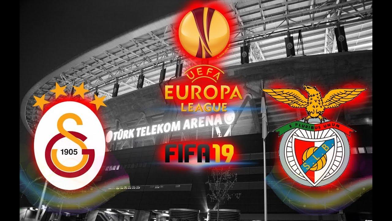 GALATASARAY VS SL BENFİCA l UEFA AVRUPA LİGİ SON 32 TURU l ...