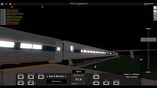 ROBLOX Rails Unlimited Amtrak Carolinian 79 Train Departed out of Orion