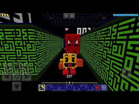 PAC MAN MOD In Minecraft PE