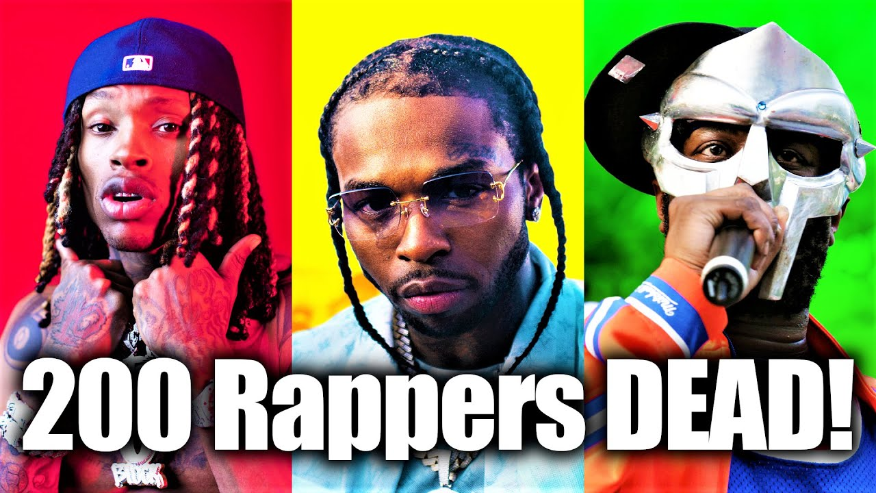 200 Rappers Who Died In 2020 [Rap Rewind 2020]