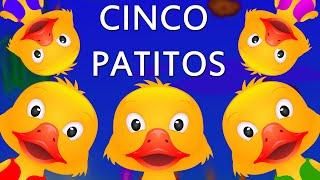 Cinco Patitos poesía Infantil Con Letra – Canciones Infantiles en Español | ChuChu TV