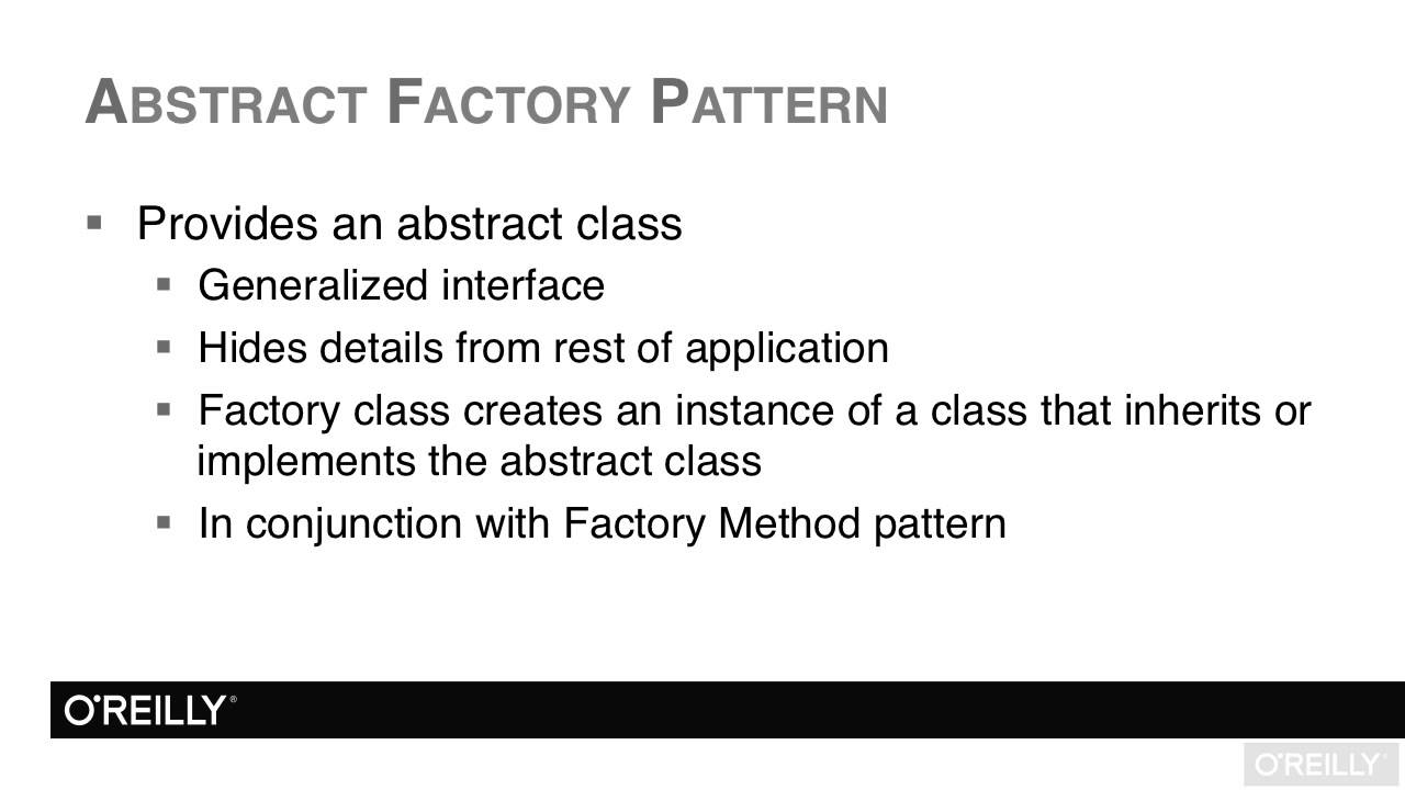 Abstract Factory Pattern C Best Design Inspiration